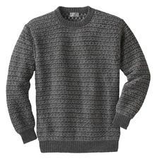 7-kleurige trui van alpacawol - Exclusieve breimode uit de Andes, geen massaproduct uit het Verre Oosten.