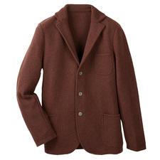 Gran Sasso gebreide  Geelong-blazer - Aangezien de wol die ervoor gebruikt is, wereldwijd het absolute summum is.
