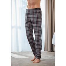 Hanro nette pyjamabroek - Stijlvolle ruiten. Hoogwaardig, volumineus katoenflanel. Van Hanro of Switzerland.