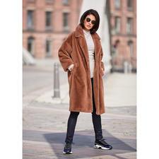 Betta Corradi mantel van imitatiebont - De mantelklassieker van morgen. Van luxueus imitatiebont. Van de trendy fake fur-specialist Betta Corradi.