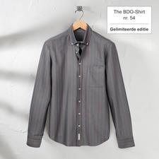 The BDO-shirt, Limited Edition No.54 - Ontdek een goede oude vriend. En vergeet dat een overhemd moet worden gestreken.