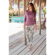 RAPHAELA-BY-BRAX toverbandbroek, Wild Flowers - Waarschijnlijk uw meest comfortabele broek: de toverbandbroek van RAPHAELA-BY-BRAX.