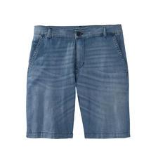 Karl Lagerfeld jeansbermuda - 7 oz. light-denim maakt deze jeansbermuda heel luchtig en dus ideaal voor de zomer. Van Karl Lagerfeld.