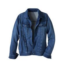 Jersey-jeansjack - Het klassieke jeansjack – eindelijk net zo comfortabel als uw favoriete cardigan.