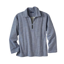 Saint James vissersoverhemd - Vissersoverhemd Vareuse: het Bretonse origineel in trendy workwear-stijl.