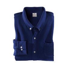 FTC SeaCell®Cashmere fijngebreid overhemd - SeaCell®Cashmere: soepel en zacht dankzij kasjmier. Droog, pillingarm en huidverzorgend dankzij zeewier.