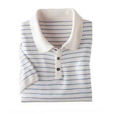 Poloshirt van Tencel® en linnen - Koeler en nonchalanter dan pure Tencel®: Tencel® met linnen en katoen. Minder glans, meer structuur.