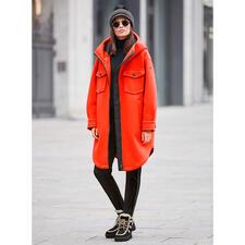 Goldbergh sportief coutureparka, oranje - Sportieve streetwear of trendy sportswear? Beide! Van Goldbergh, de Nederlandse favoriet van de modebladen.