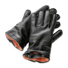 Merola heren-handschoenen - Met de hand genaaid van zeer fijn lamsnappa. Met uitknoopbare kasjmier-voering.
