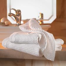 Wafelpiqué-handdoeken, set à 2 stuks - Wereldwijd moeilijk te vinden – in Italië een klassieker met traditie.