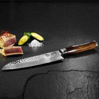 Shun Premier-messen 'Tim Mälzer' De nieuwe damaststalen messenserie van de traditionele Japanse producent KAI.