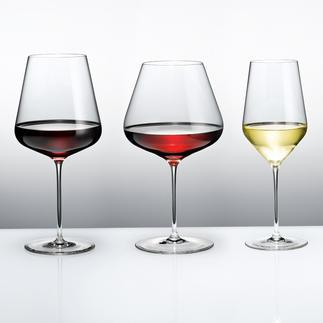 Zalto Denk'Art Bourgogne-glas, Bordeaux-glas of Wittewijnglas Zeer dun, schitterend, optimaal lichtdoorlatend.Tevens stootvast, vaatwasserbestendig & bestand tegen droesem.