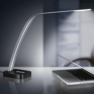 Lita Design led-tafellamp Kurztext: Zeer slank design. Neutraal wit licht. Ideaal bij het lezen en werken.