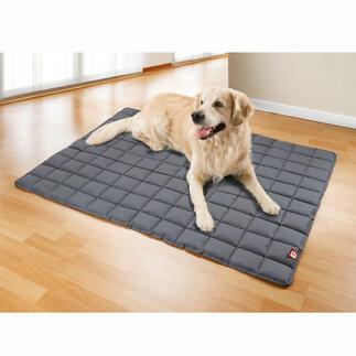 Hondendeke, wasbaar op 95 graden De eerste comfortabele, gepolsterde hondenkussens die op 95 °C gewassen kan worden.