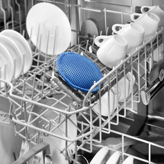 Bio-actieve vaatwasserpad Beschermt uw servies, uw machine en het milieu. En bespaart veel geld.