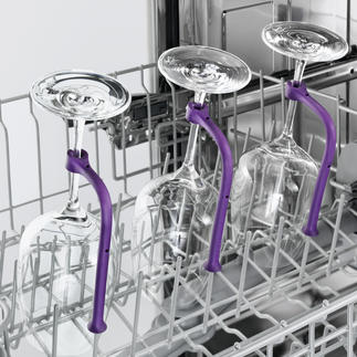 Glazenhouder voor de vaatwasser, set van 8 Eindelijk kunt u ook glazen met een lange steel veilig in de vaatwasser reinigen.