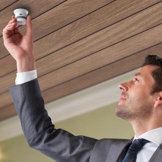 """Onzichtbare rook- of hittemelder """"10 jaar"""" 10 jaar operationeel zonder dat u de batterij hoeft te vervangen. Levensreddende technologie in miniformaat."""