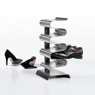 schoenenrek 'Nest' Golvende etages dragen uw schoenen slipvast, luchtig en gescheiden van elkaar.