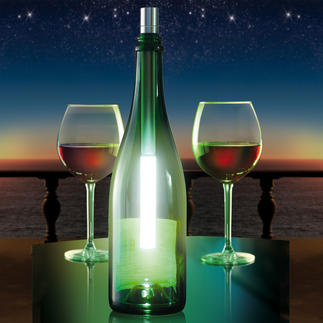 Bottlelight Verander nu iedere lege wijn- of champagnefles in een aantrekkelijk lichtobject.