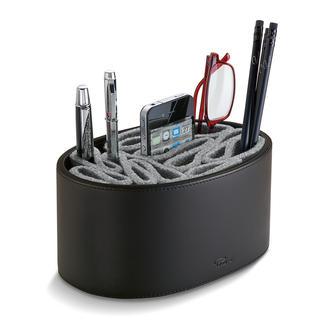 Flexo vilten pennenkoker De ideale plek voor uw pennen. En bescherming tegen krassen voor uw mobieltje, uw leesbril...