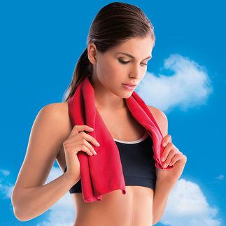 Microvezel-sporthanddoek of -douchehanddoek, set van 2 Erg compact. Extreem hoog absorptievermogen. Sneller droog. Kwalitatief hoogstaande microvezels.