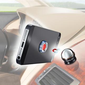 Steelie® tafelhouder of autohouder Geniaal variabele magneethouder voor smartphone, tablet & co. Voor auto, werkblad en tafel.