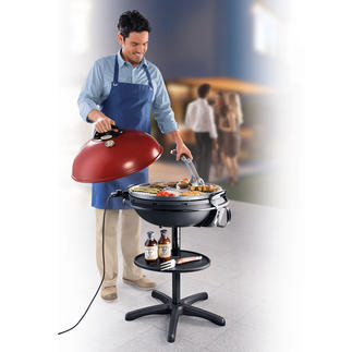 XXL elektrische barbecue en grill De best geteste elektrische barbecue. Groter. Sterker. Met keramische antiaanbaklaag.