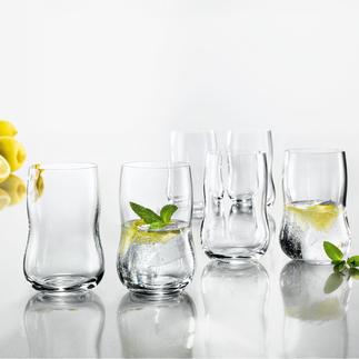 Holmegaard bekerglas, set van 6 stuks Esthetisch fraai. Handige vorm. Perfect formaat.