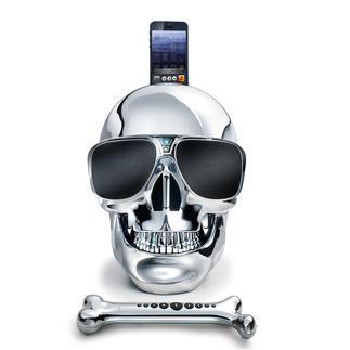 AeroSkull HD+ High-end-speaker & cultobject tegelijkertijd. Ontwikkeld onder leiding van topmuzikant Jean Michel Jarre.