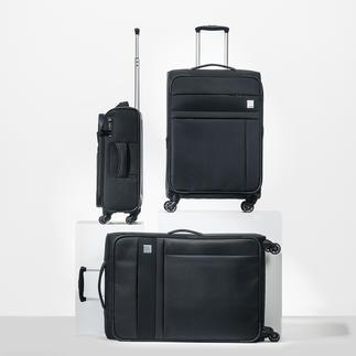 Oconi trolley van dobby nylon Solide dobby nylon. Elegant design. Praktische features. Veel bergruimte.