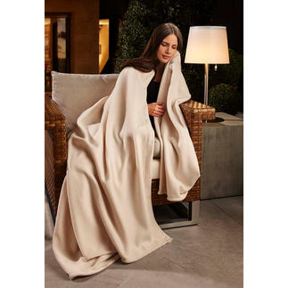 Wonder Blanket® Heerlijk warm, zachte fleece: om alleen of met zijn tweeën van te genieten.