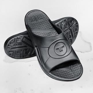 Novalon™ ultralichte slippers Vormt uw individuele voetbed. En zorgt voor perfecte ontspanning. Anti-allergeen & latexvrij.