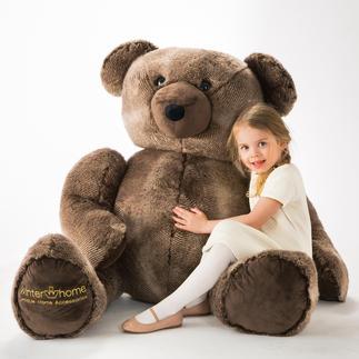 XXL-teddybeer Winter Creation Heerlijk spelen en knuffelen met de XXL-teddybeer. Een vriend voor het leven.