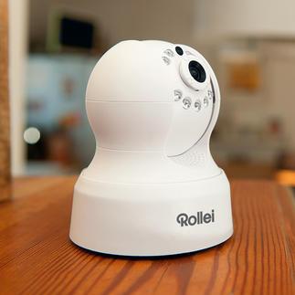 Rollei Safety-Cam Outdoor of Indoor Zicht op uw huis. Overal ter wereld. Met uw smartphone, tablet of pc.