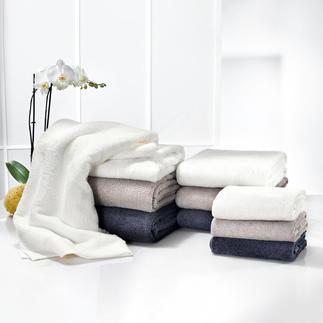 AirDrop®-handdoeken Voelbare luxe. De innovatieve 'AirDrop®'-technologie zorgt voor een bijna 2x zo groot volume.