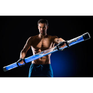 SLASHPIPE® Fit of Mini Wereldprimeur op het gebied fitness: Een effectieve training van het hele lichaam volgens het chaos-principe.