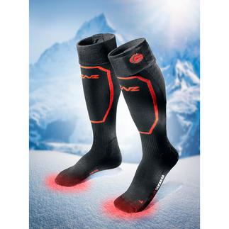 Verwarmde sokken met of zonder accu, per paar Passen in elke schoen. Verwarmen de voeten tot wel 14 uur. Nu gemakkelijk via Bluetooth aan te sturen.