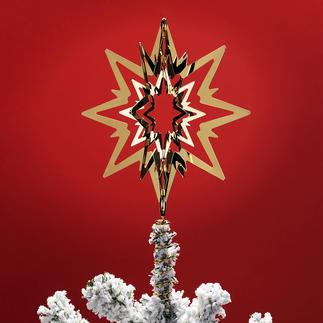 Kerstboompiek Georg Jensen Finishing touch voor uw kerstboom. Twee uitvoeringen – passend bij elk soort kerstboomversiering.