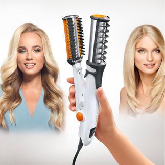 InStyler® Titanium Maakt het haar steil, golvend, krullend, geeft volume – en beschermt uw haar.