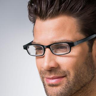 Eyejusters Met een draai regelt u de sterkte van uw lensen naar behoefte. Altijd de juiste bril.