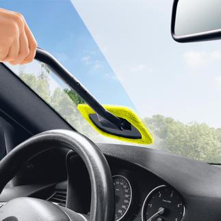 Windshield Wonder, set van 2 Eindelijk reinigt u de binnenzijde van uw autoruiten snel en gemakkelijk.