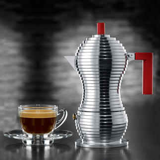 Alessi espressomaker 'Pulcina' Alessi's mooiste espressomaker. Met de knowhow van Illycaffè.