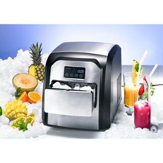 Design-Icemaker Cool. Compact. Comfortabel. Met edelstalen front en touch-display.