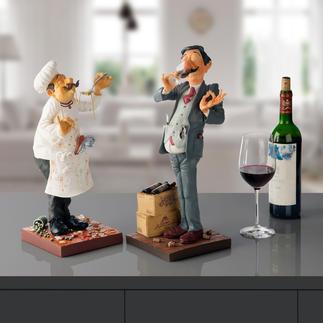 Forchino figuur Kok of Wijnproever De kunst om het (beroeps-)leven met humor en ironie te benaderen.