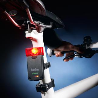 Fietsachterlicht met remlicht Meer veiligheid tijdens het fietsen. Geschikt voor het wegverkeer.