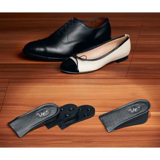 Push-up-inlegzolen Ze maken u ongezien tot wel 4,7 cm langer. Voor haast elke schoen en elke gelegenheid.