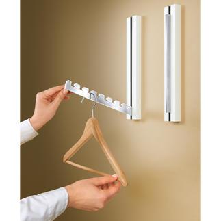 Inklapbare design-kapstok, 1 stuk Praktisch én mooi. Biedt plaats aan 8 kleerhangers.