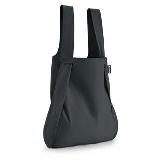 2-in-1 combi-tas 'Notabag' Opvouwbare shopper en rugzak in één.  Past in elke jaszak.