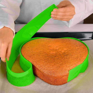 Free Bake siliconeband Allerhande creatieve bakvormen – met slechts één handige siliconeband.