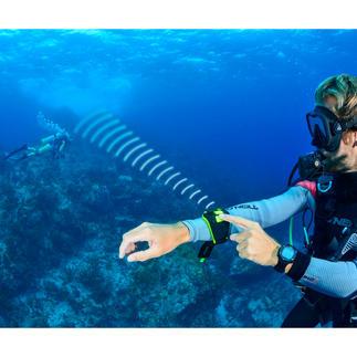 Buddy-Watcher® partnerset Meer veiligheid bij het duiken: een vibrerend alarm roept uw buddy.